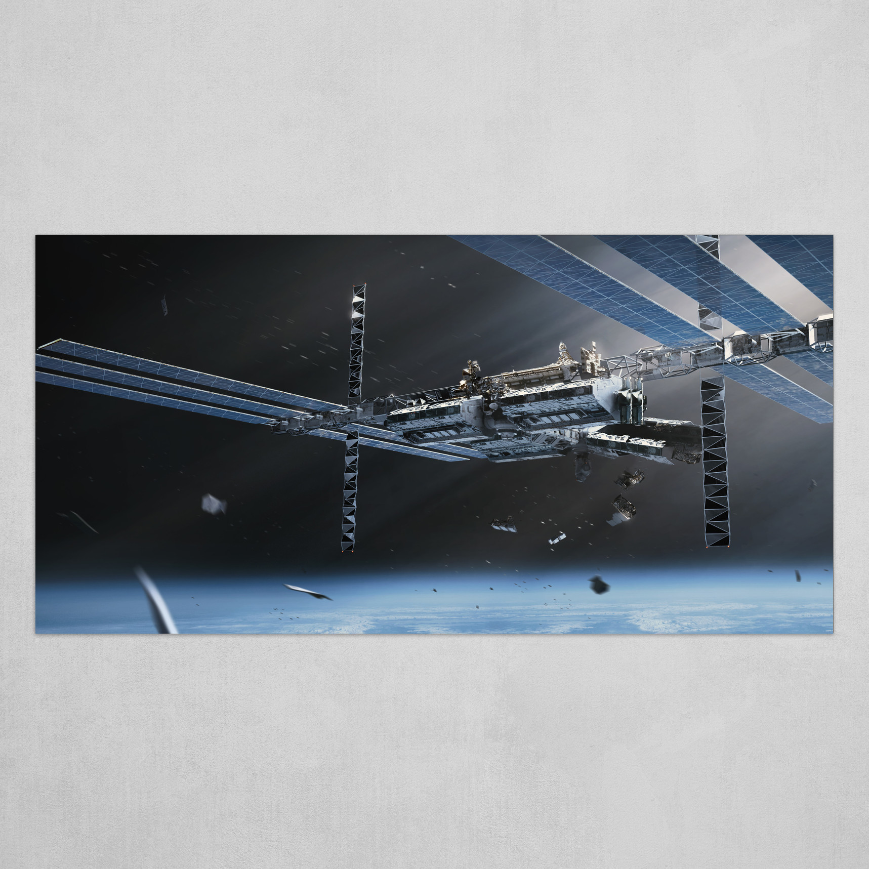 Feral Orbit - Station Exterior