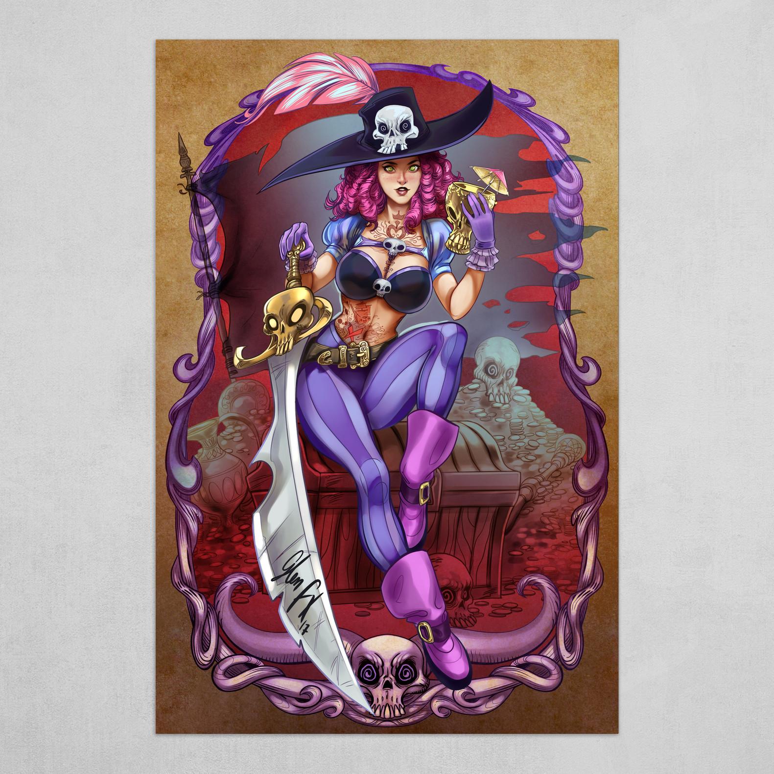 Wicked Witch - Pirate Jane