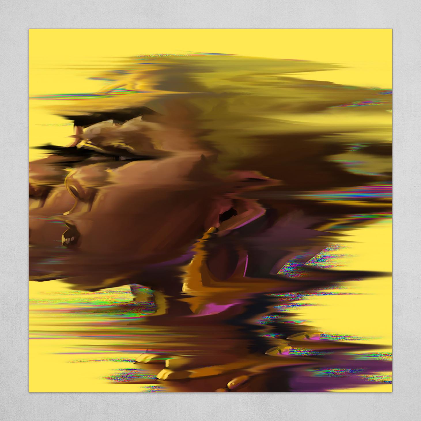 Afro Portrait Experiment
