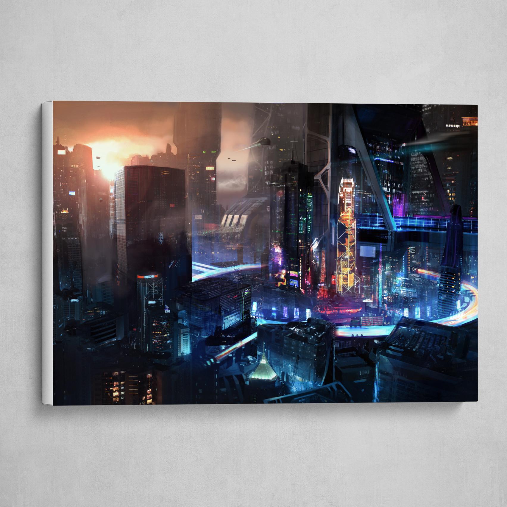 Cyberpunk Views