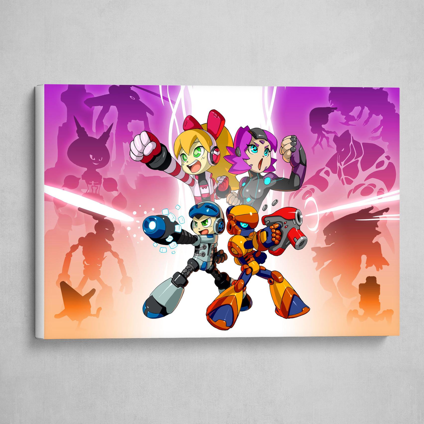 Mega Man and Ares