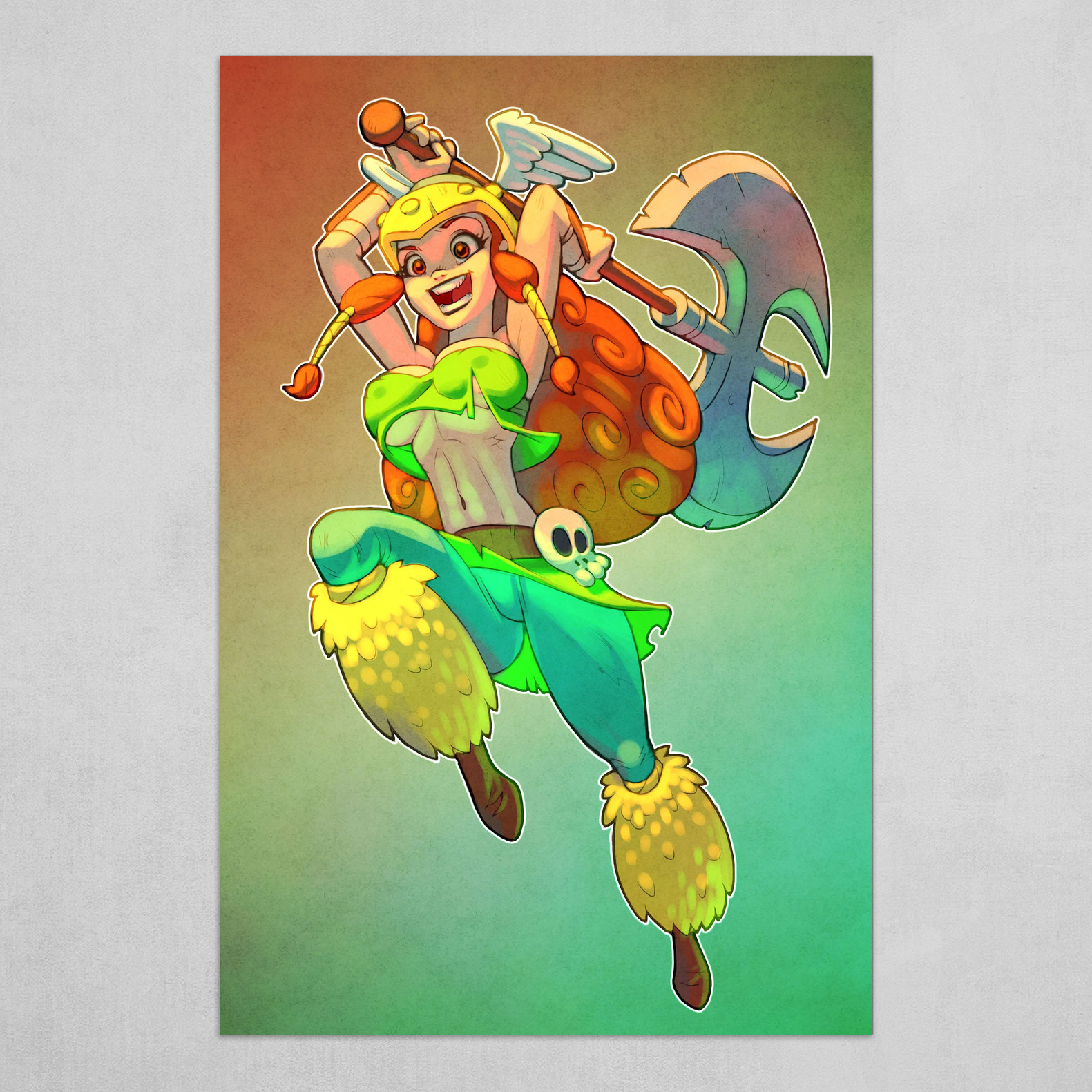 Barbara - Rayman Legends