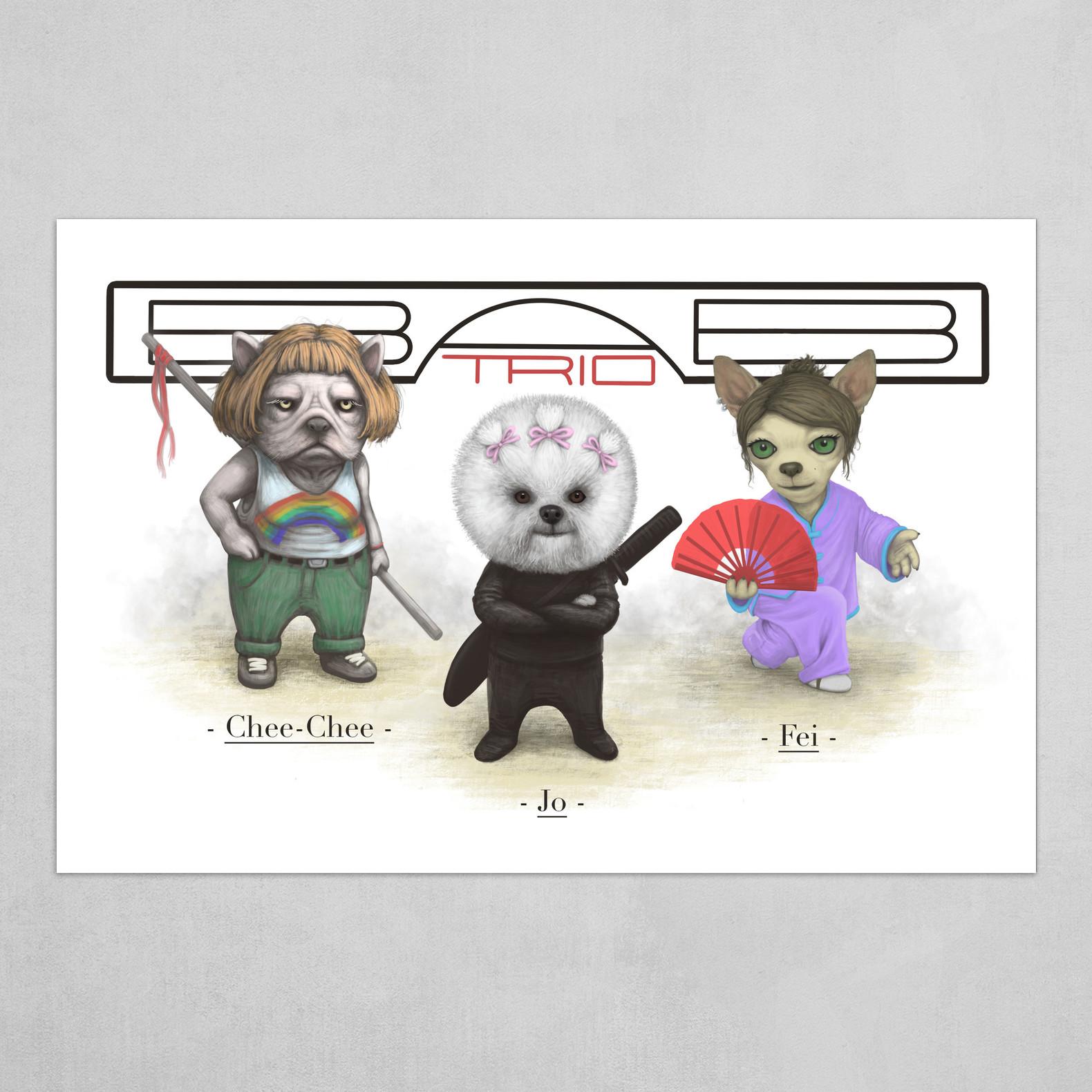The BAB Trio