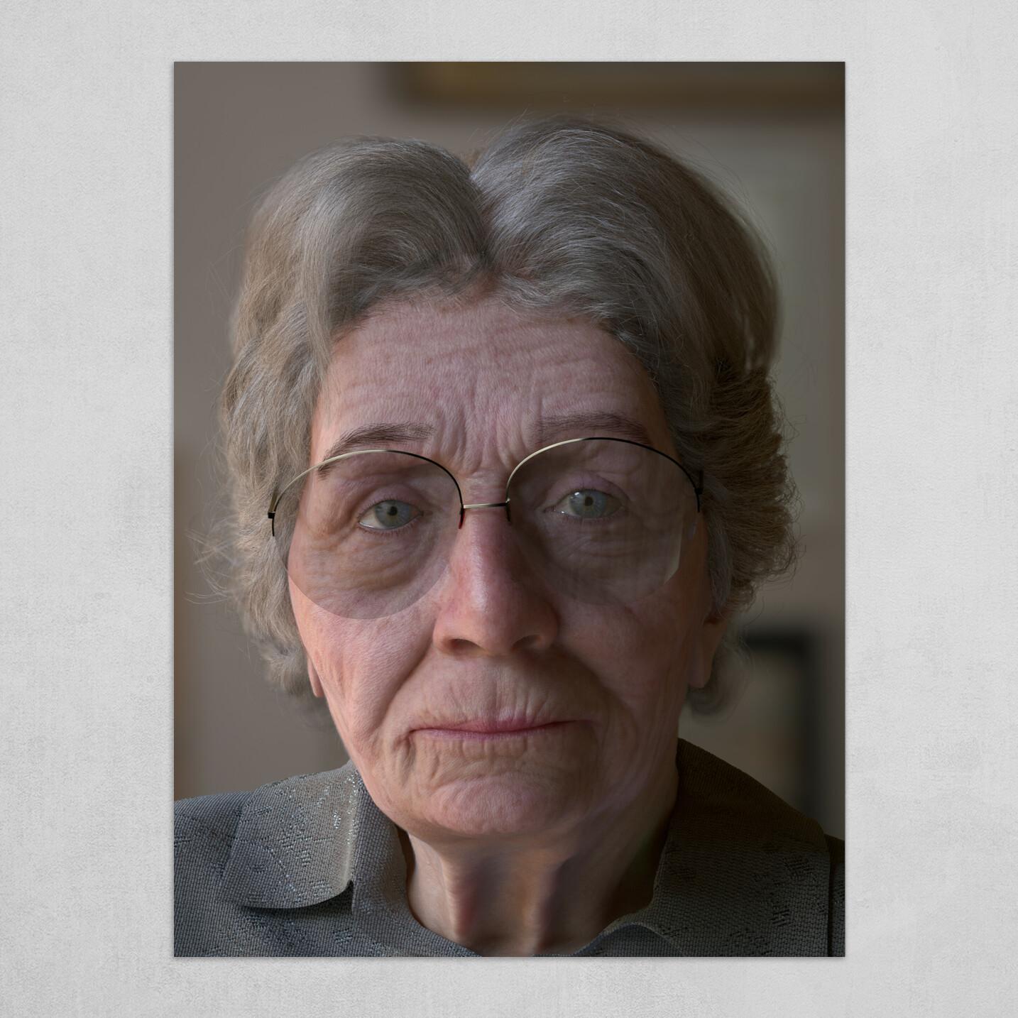 Judy's Portrait