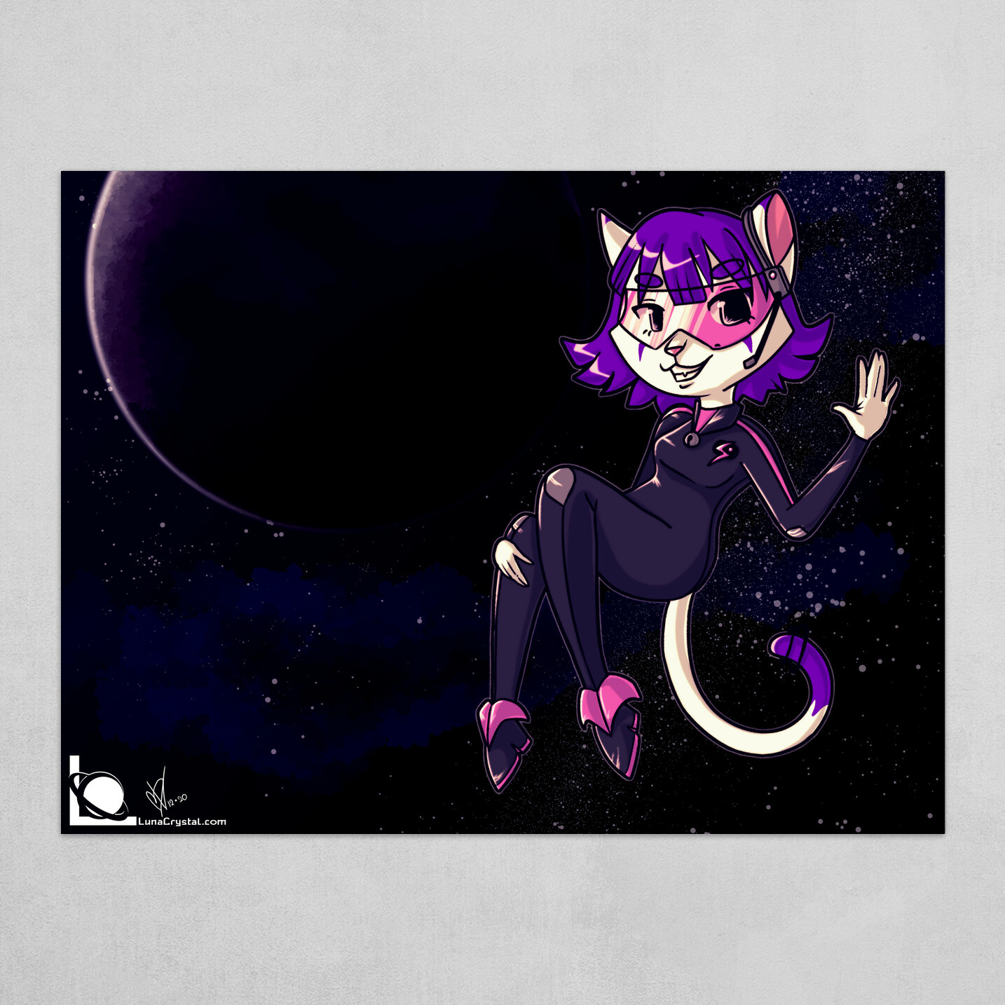 Nora Neko in Space