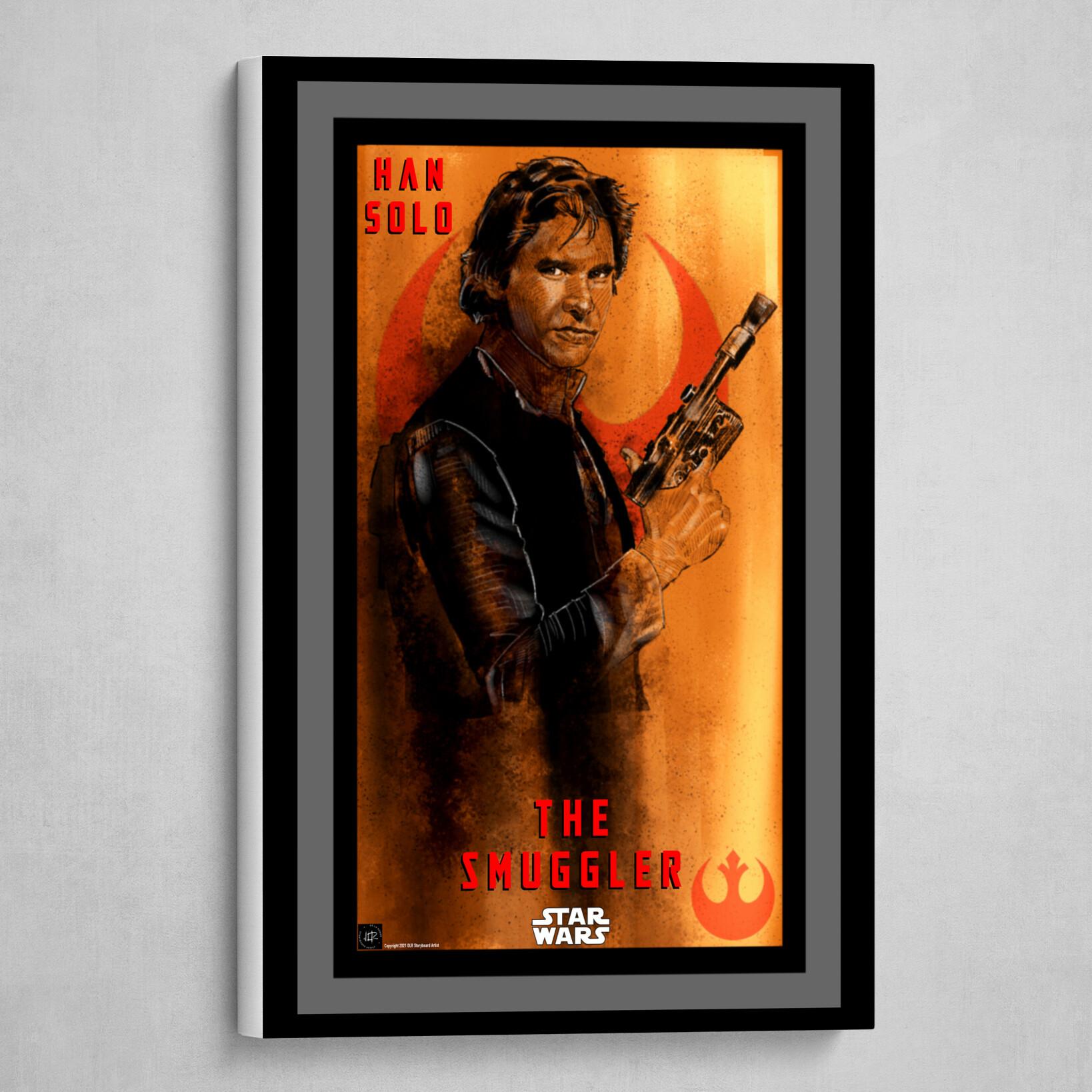Han Solo-The Smuggler Poster