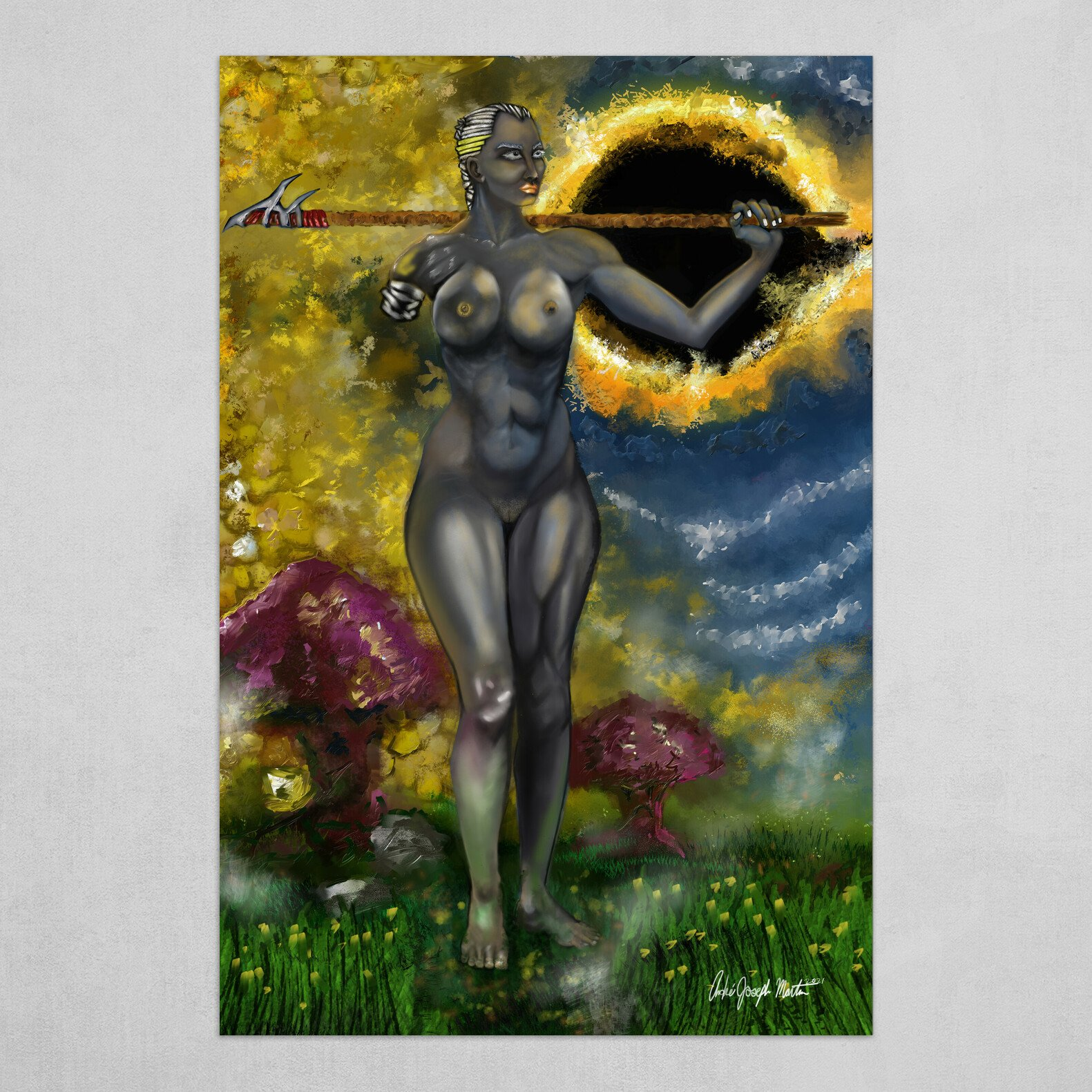 Realm of Black Sun: The Broken Goddess