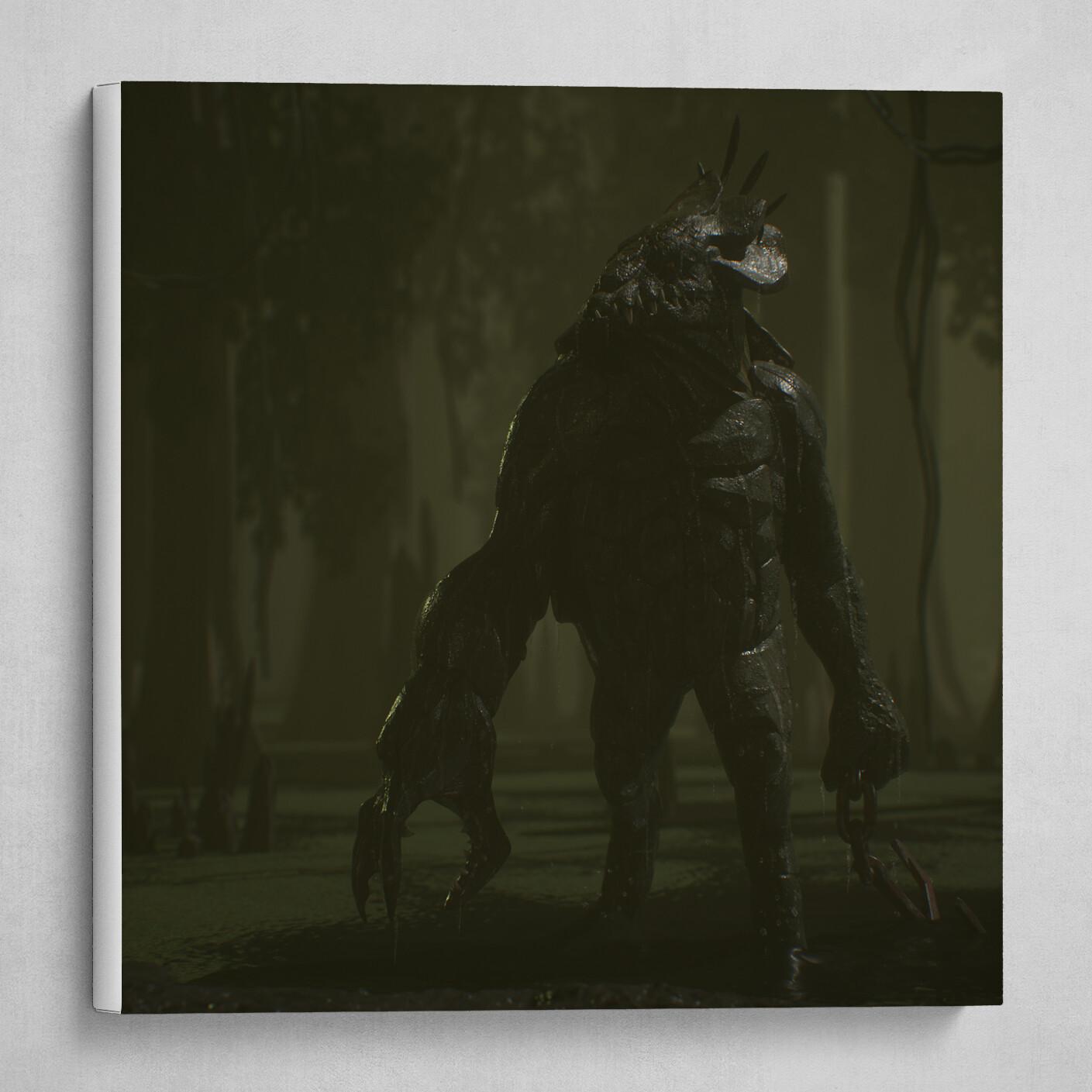 Bog Mutant Dark