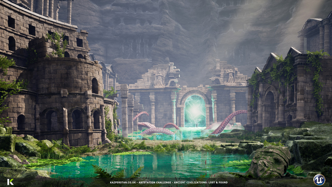 Honourable Mention, Ancient Civilizations: Lost & Found: Game Environment/Level Art