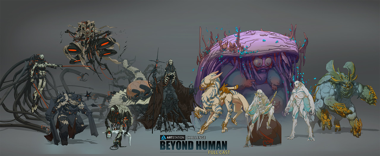 3rd Place, Beyond Human: Character Design