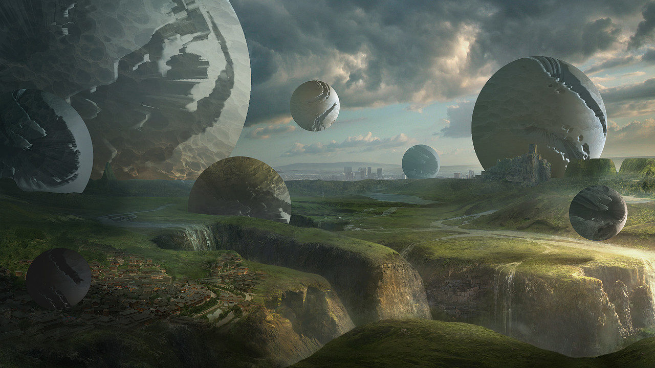 Honorable Mention, Beyond Human: Film/VFX Matte Painting