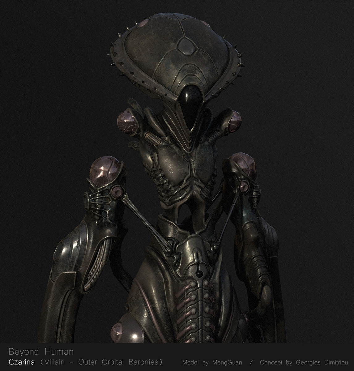 Honorable Mention, Beyond Human: Game Character Art (real-time)