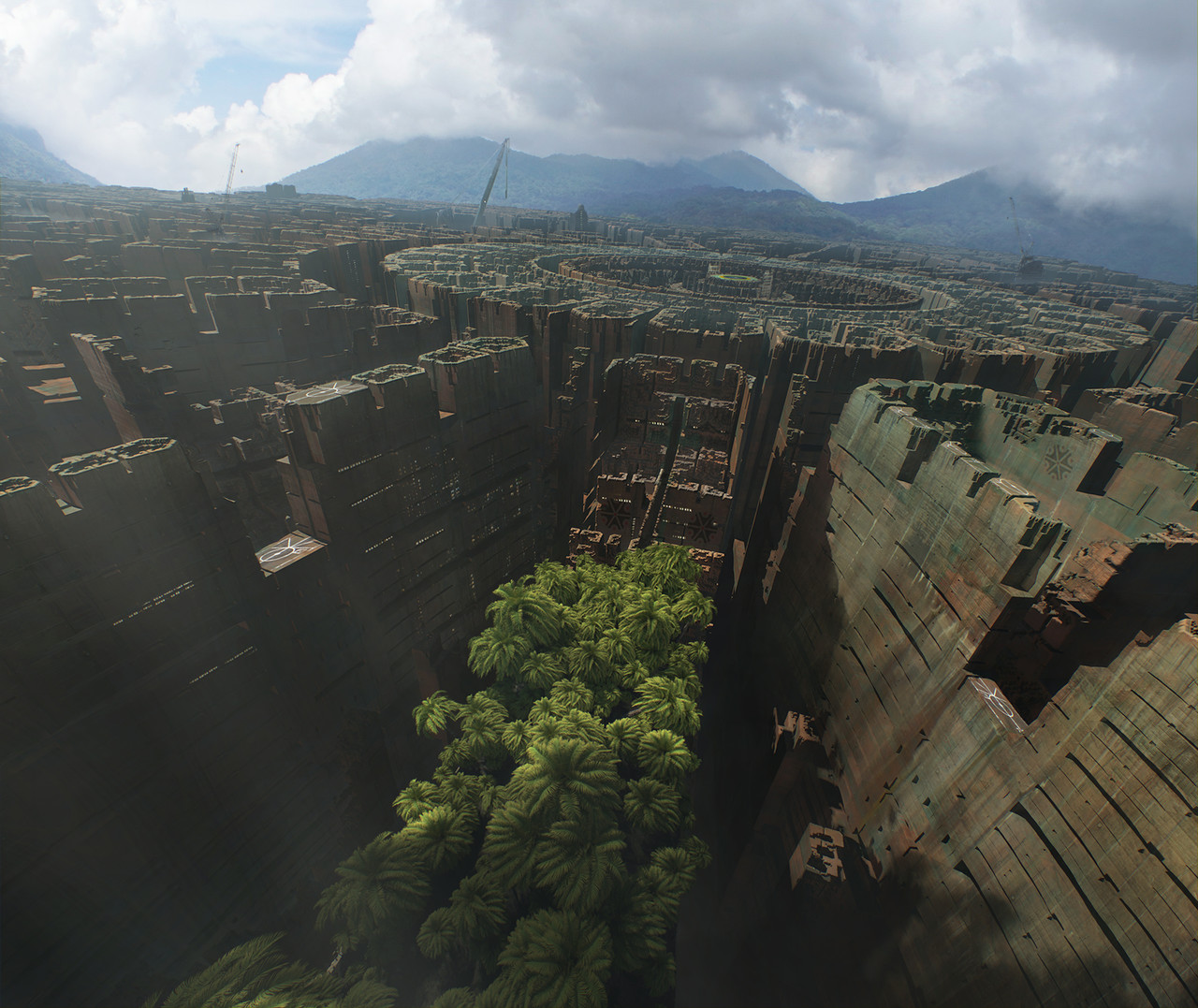 2nd Place, Beyond Human: Film/VFX Matte Painting