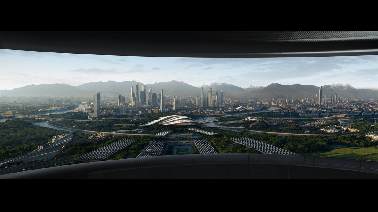1st Place, Beyond Human: Film/VFX Matte Painting