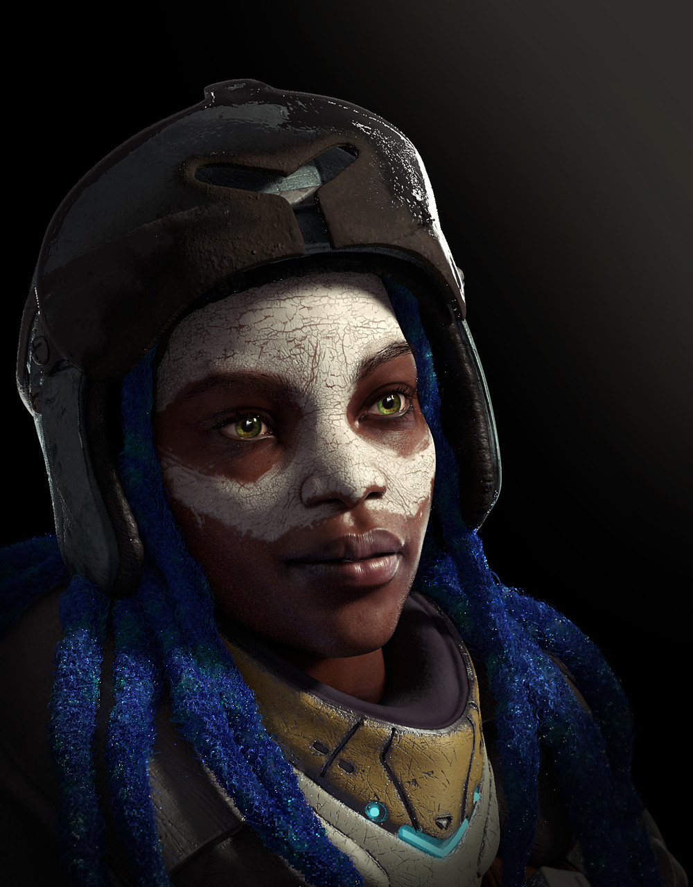1st Place, Beyond Human: Film/VFX Character Art (rendered)