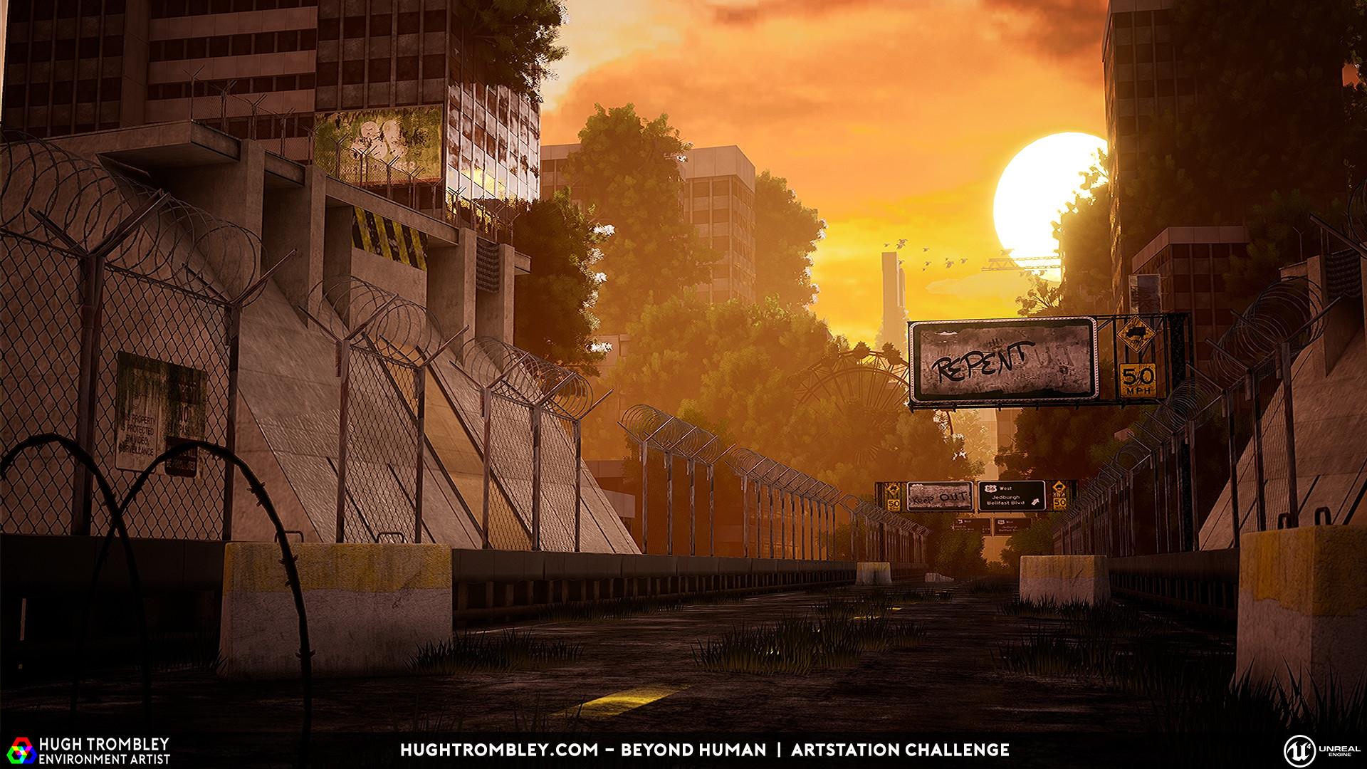 ArtStation - Hugh Trombley's submission on Beyond Human - Game