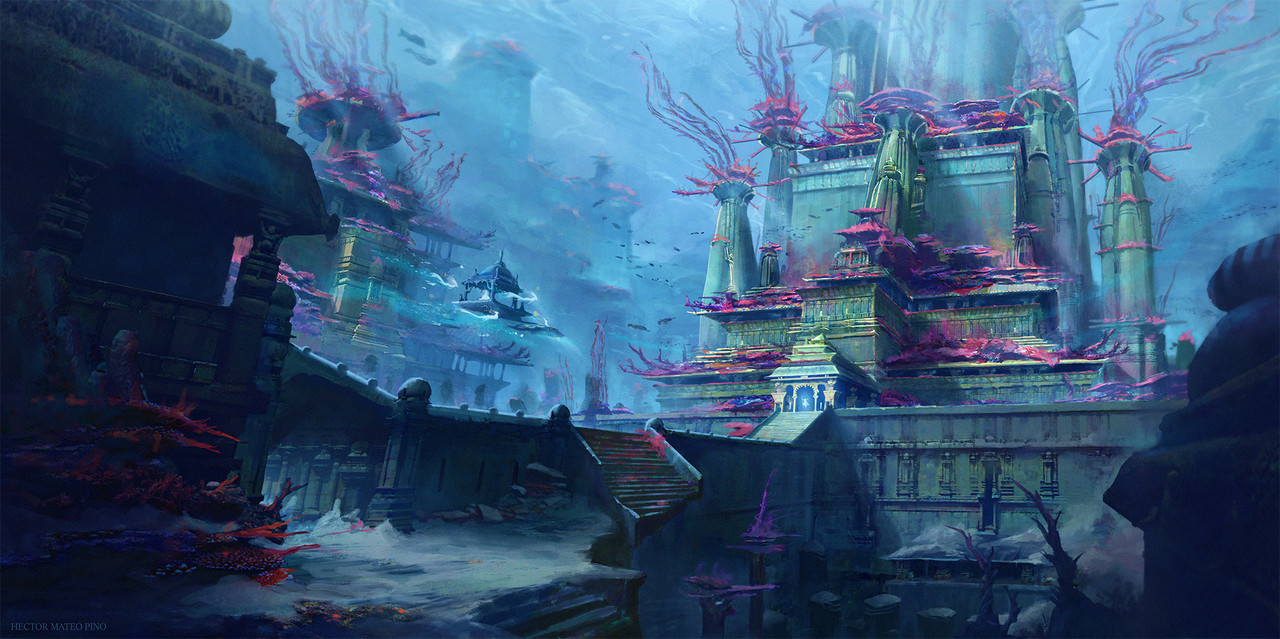 2nd Place, Beneath the Waves: Environment Design