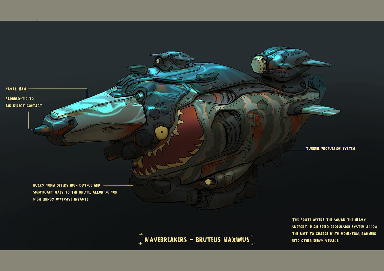 2nd Place, Beneath the Waves: Prop Design