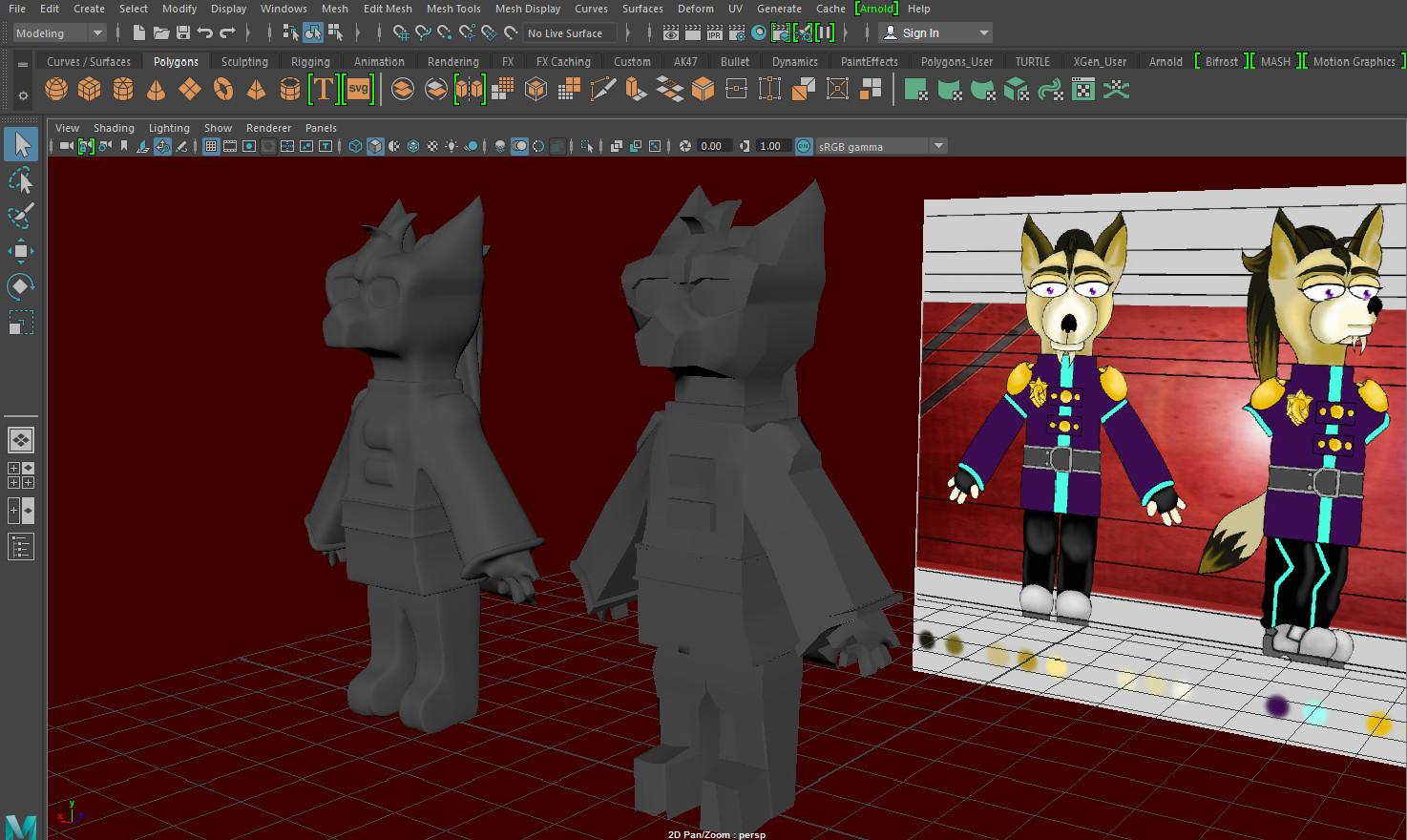 ArtStation - Jessica Jane Fox - 3D Game Character - Jet