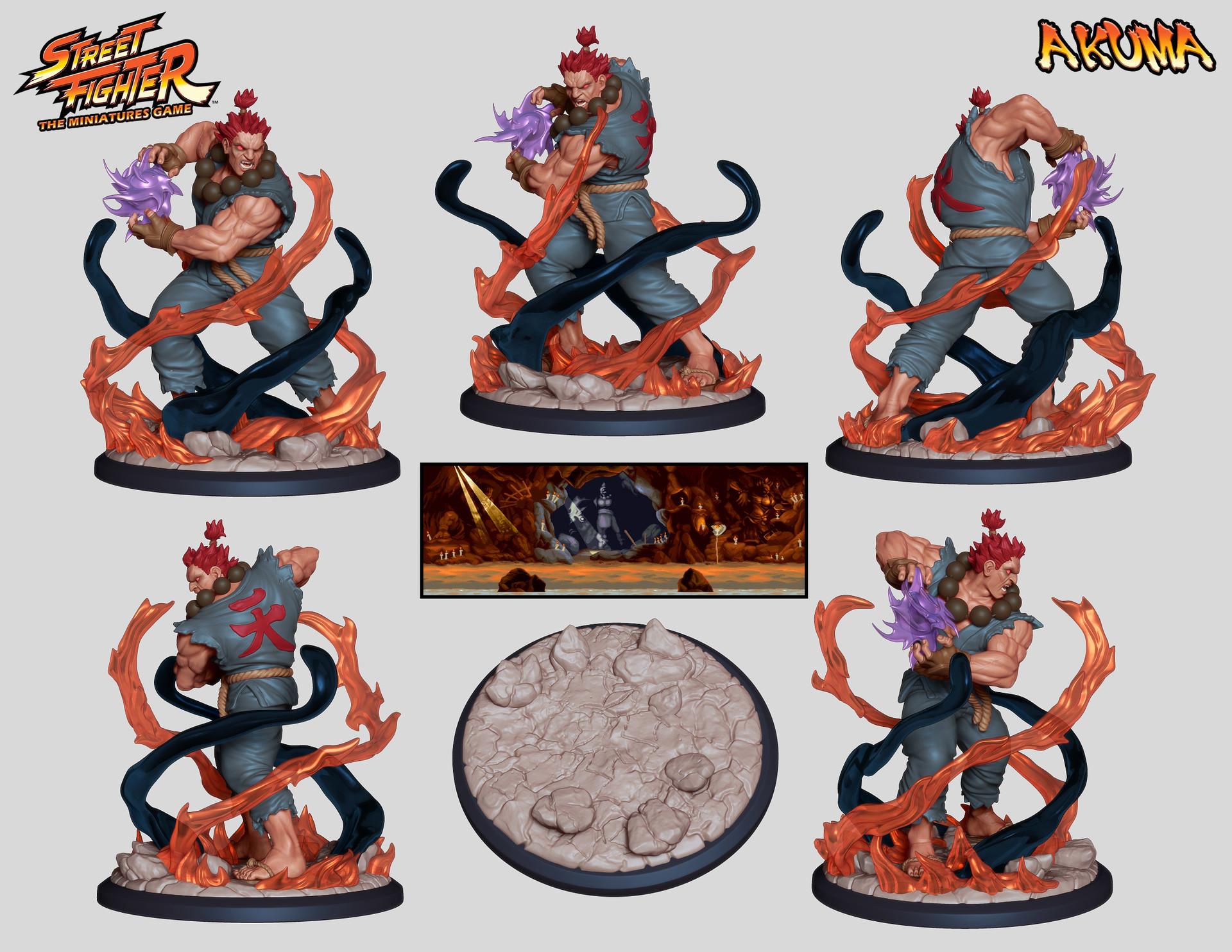 Artstation Hector Moran Hec Street Fighter The