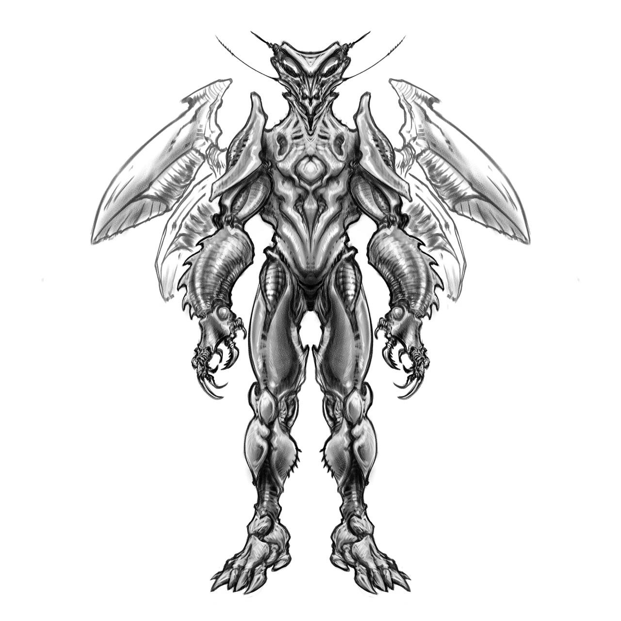 Jet mantis