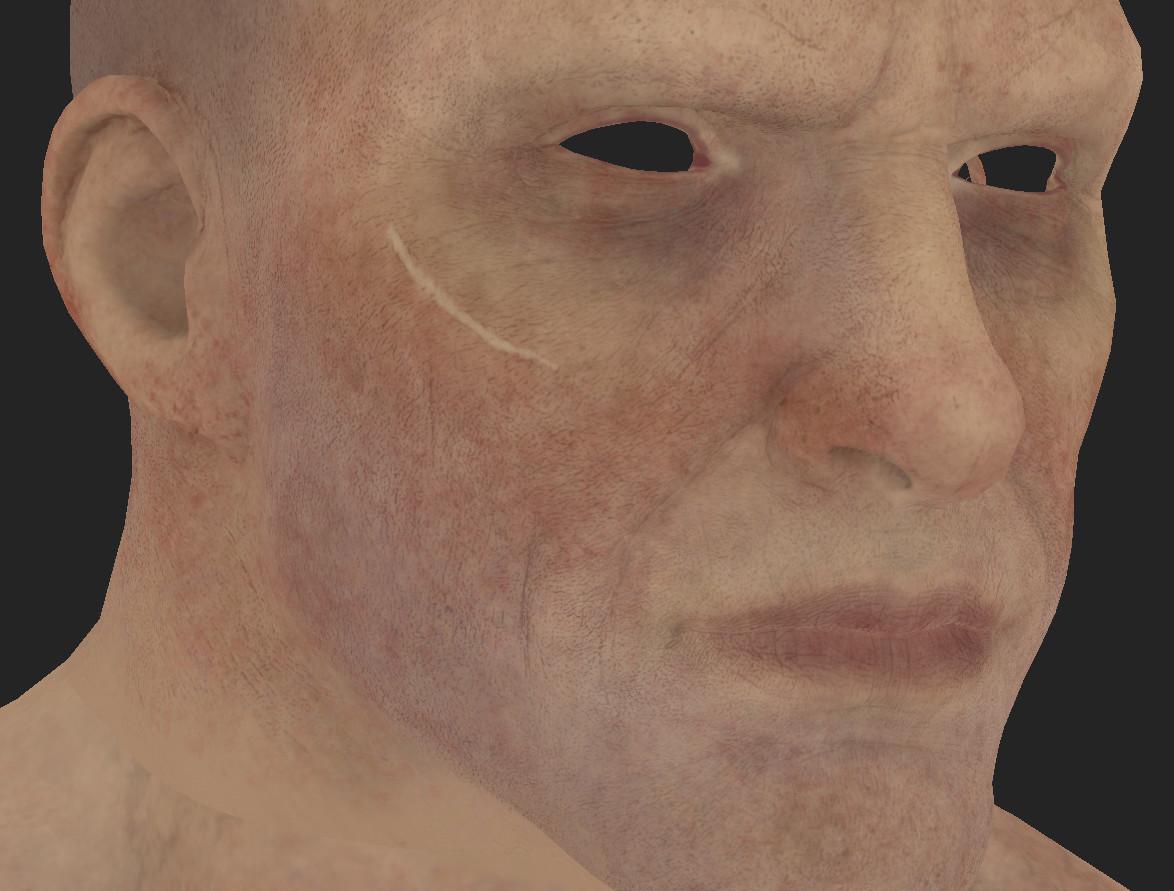 ArtStation - Jakub Chechelski - Realistic skin in Marmoset