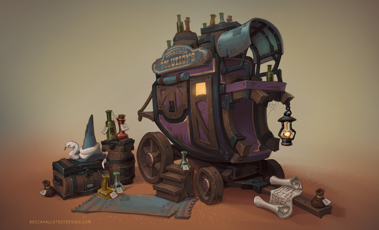 Honorable Mention, Wild West: Prop Design