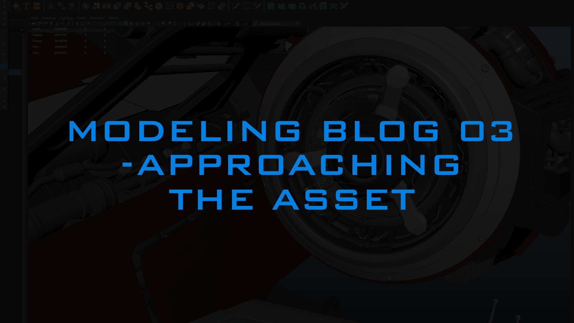 ArtStation - Andrew Hodgson - Modeling Blog 03 - Approaching