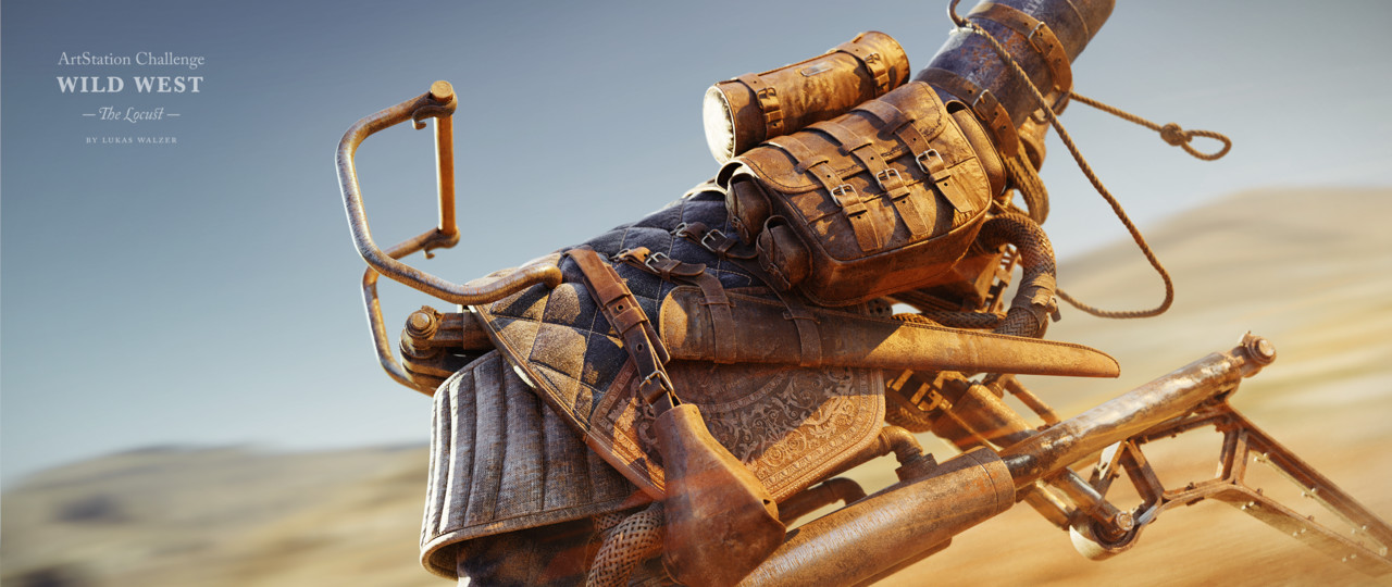1st Place, Wild West: Prop Art (rendered)