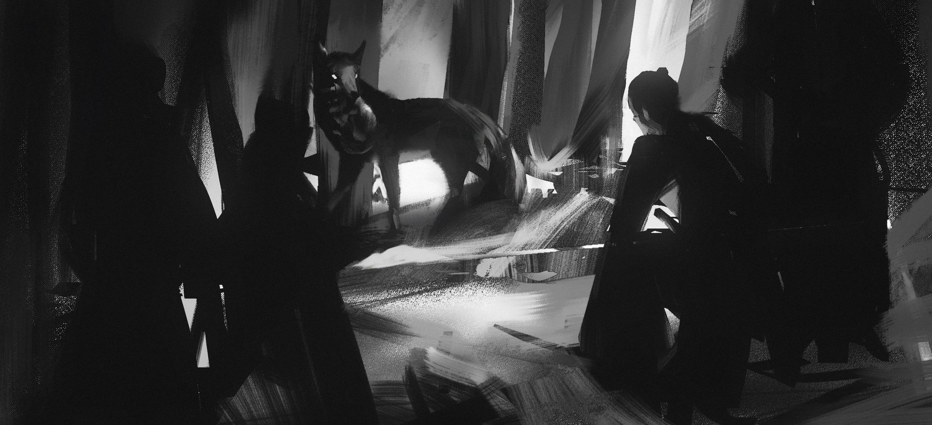 ArtStation - Pengyu Zhang's submission on Feudal Japan: The