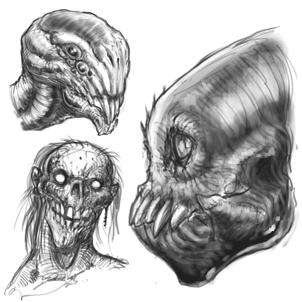 Sketcehs insta aliens