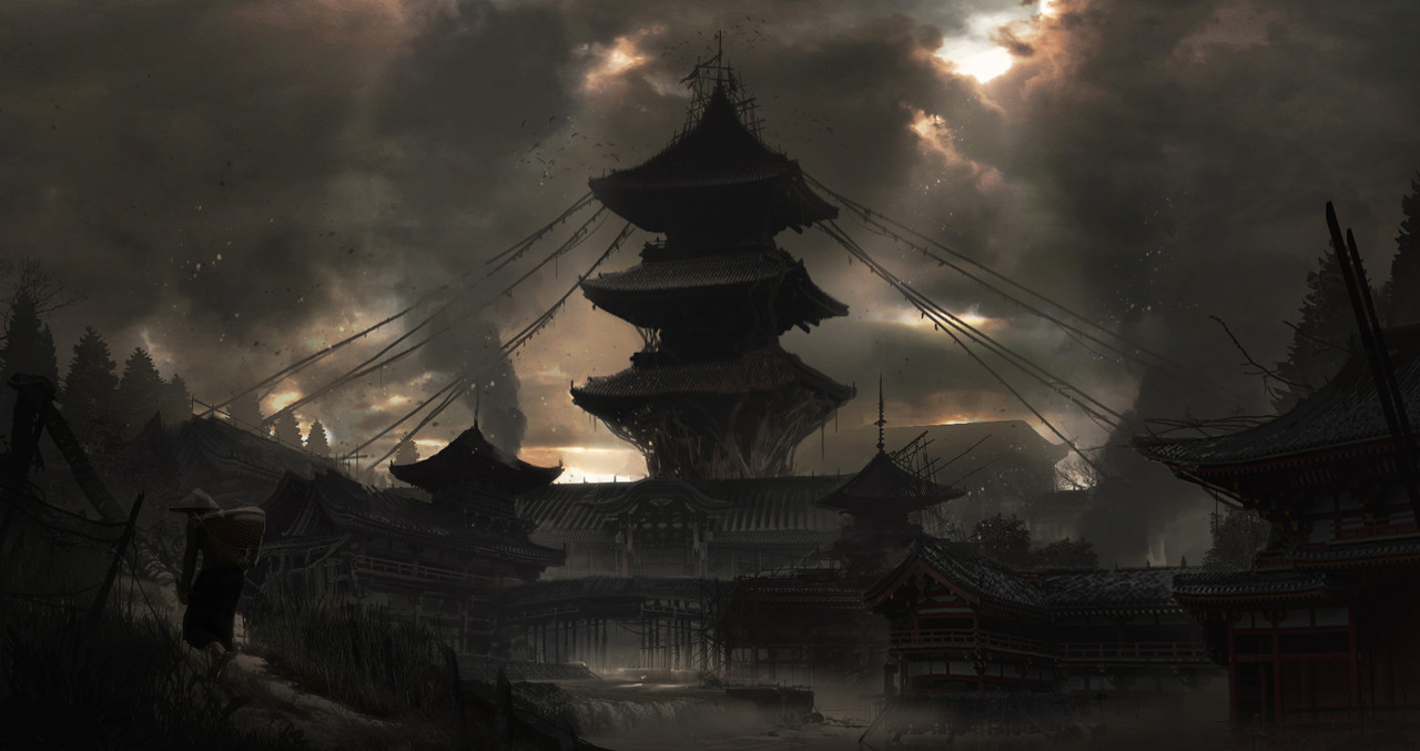 2nd Place, Feudal Japan: The Shogunate: Environment Design