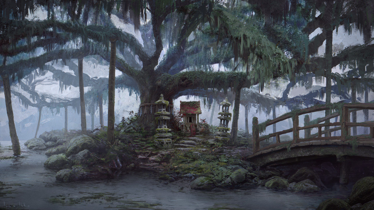 3rd Place, Feudal Japan: The Shogunate: Environment Design