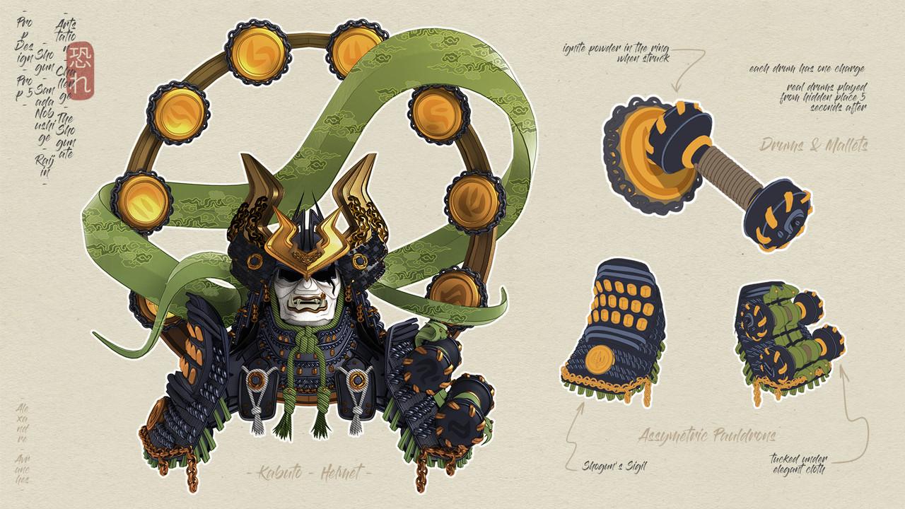Honorable Mention, Feudal Japan: The Shogunate: Prop Design