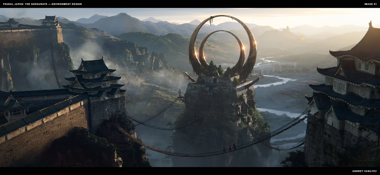Honorable Mention, Feudal Japan: The Shogunate: Environment Design