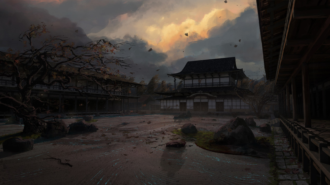 ArtStation - Garrett Brown's submission on Feudal Japan: The