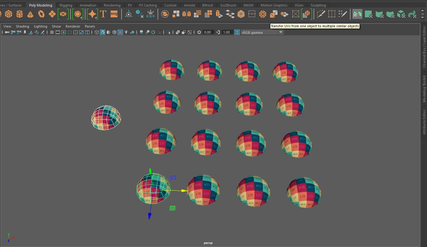 ArtStation - Nicolas Morlet - How to transfer UVs from one