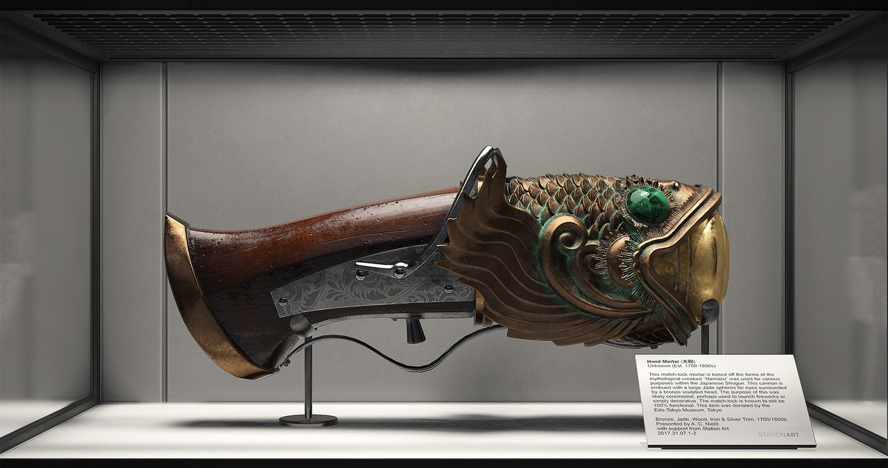 1st Place, Feudal Japan: The Shogunate: Prop Art (rendered)