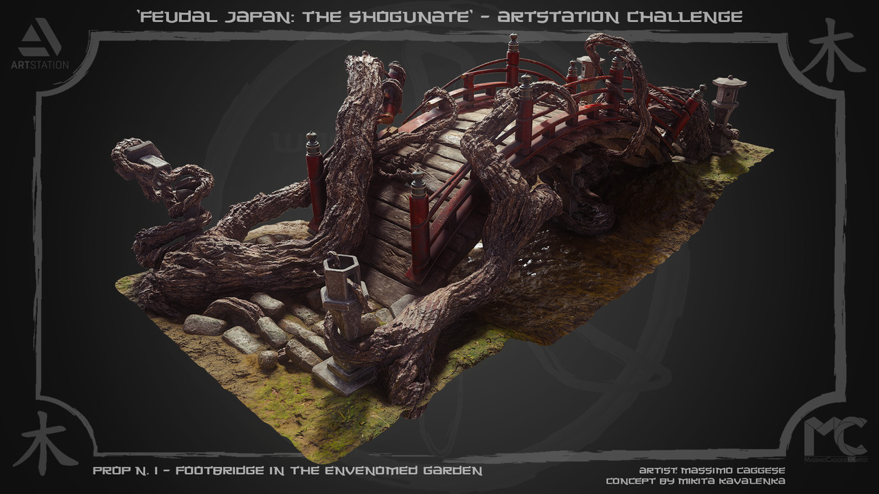 Honorable Mention, Feudal Japan: The Shogunate: Prop Art (rendered)