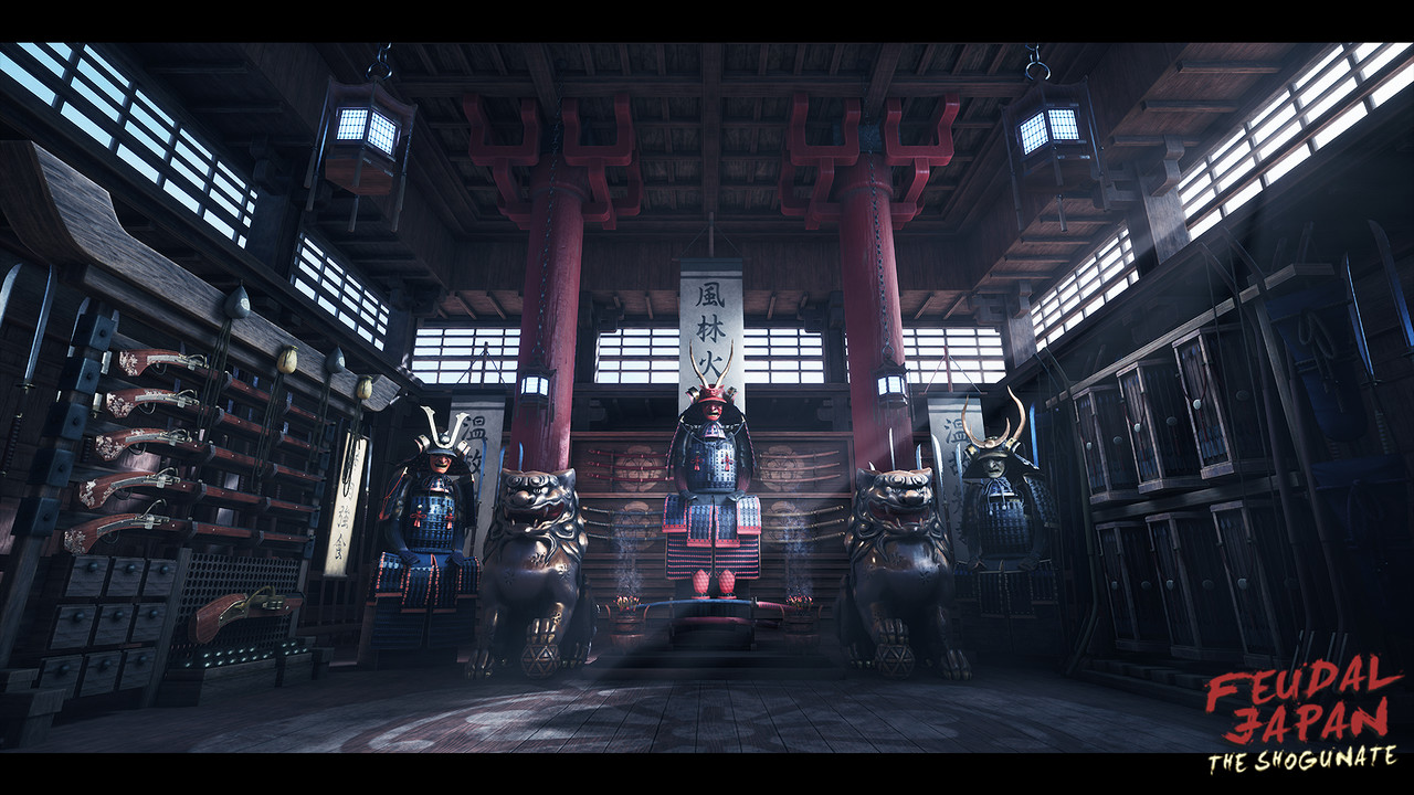 Honorable Mention, Feudal Japan: The Shogunate: Game Environment/Level Art