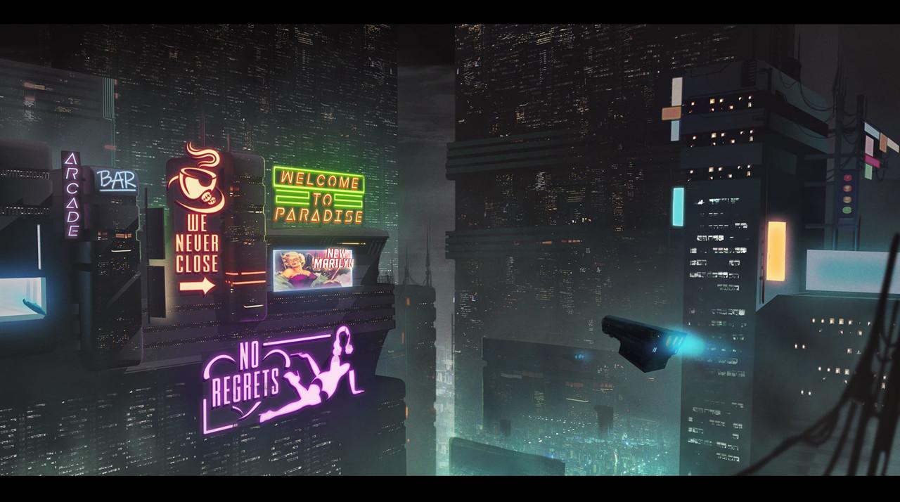 Cyberpunk city1080
