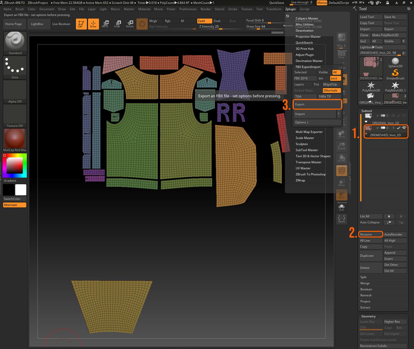 ArtStation - Émilie Boisvert - Marvelous Designer to Maya: Part 1