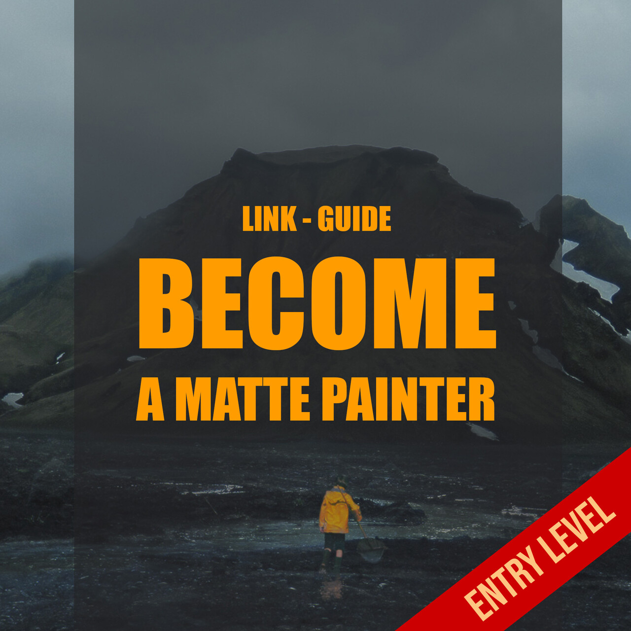 I want to be a digital matte painter square entry level