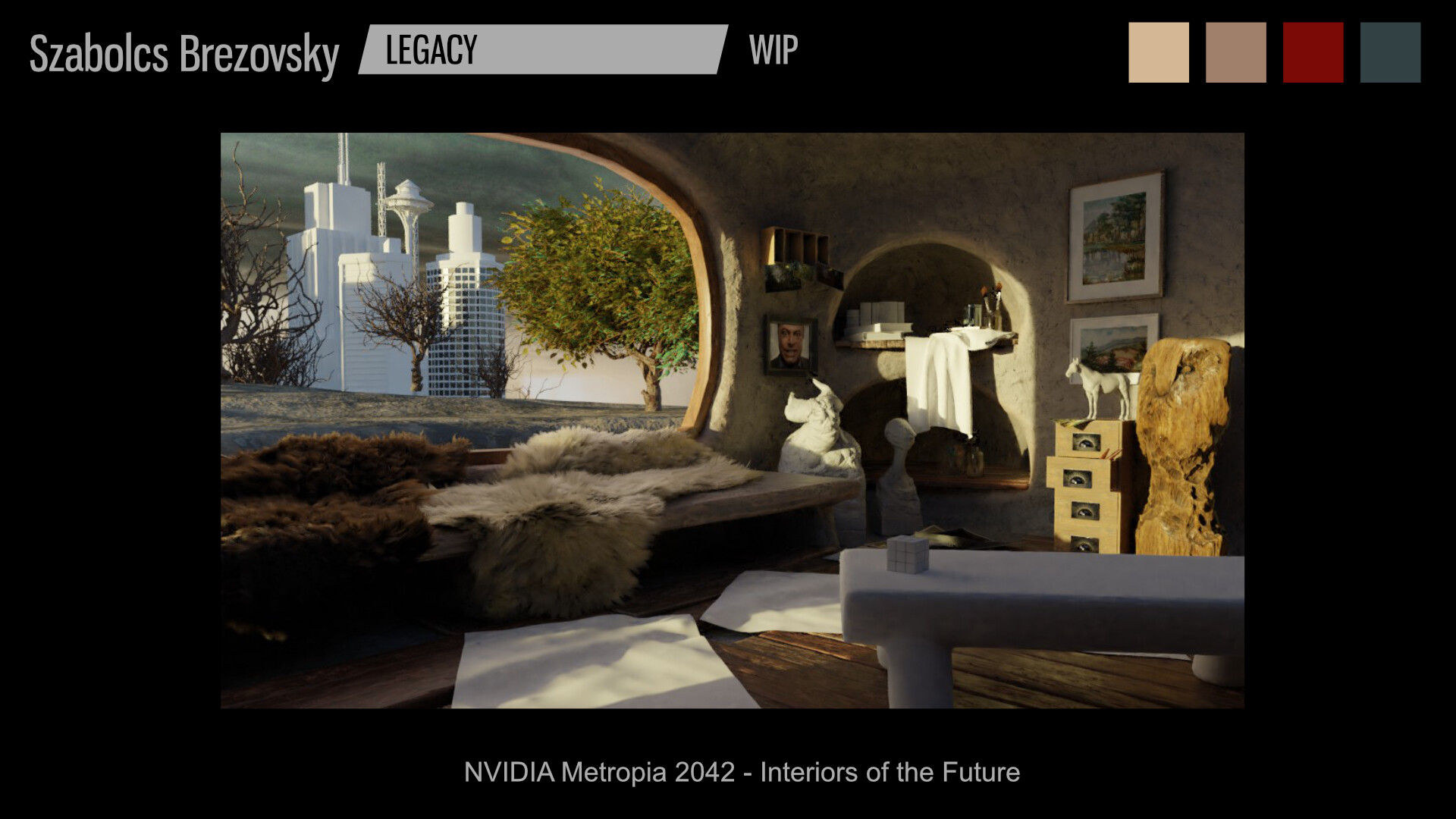 ArtStation - Szabolcs Brezovsky's submission on NVIDIA Metropia 2042