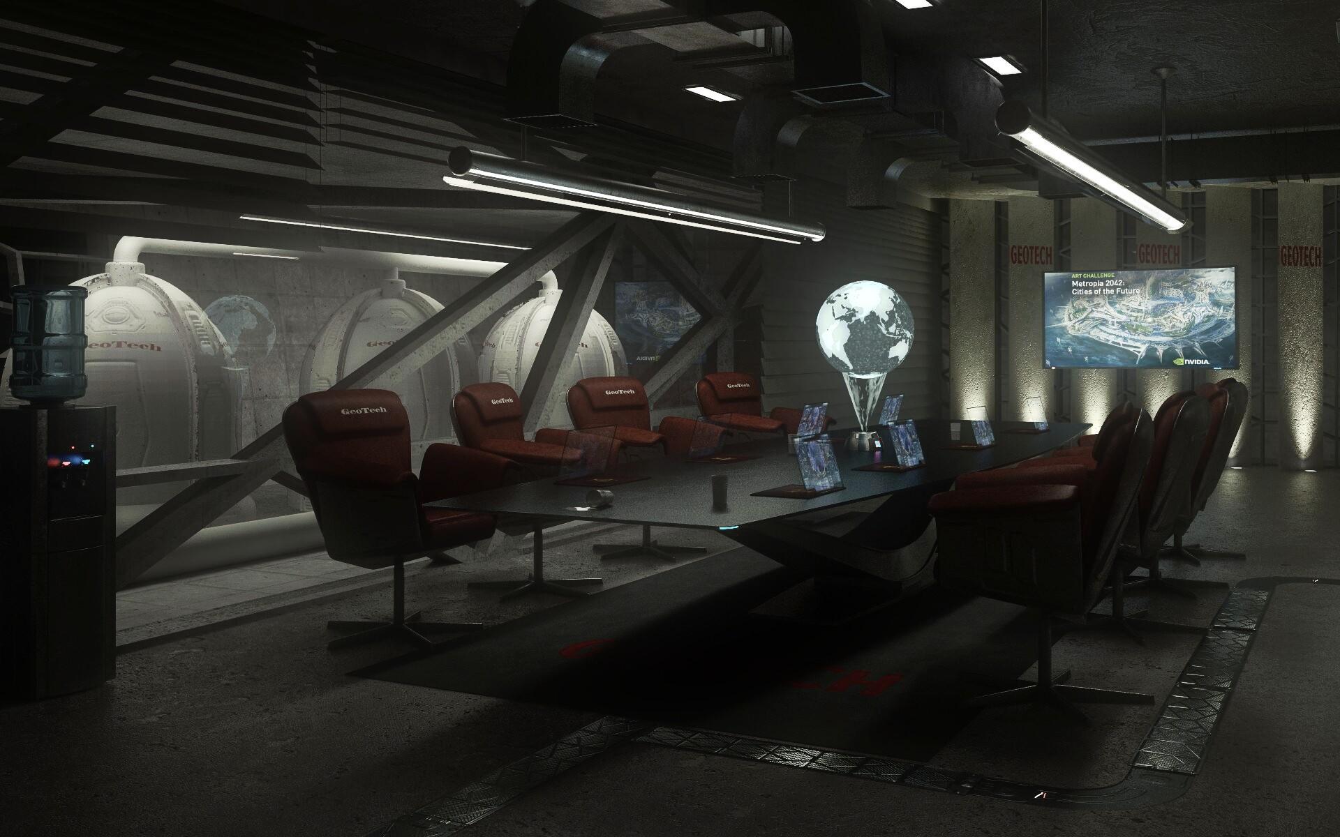 Cool Artstation Zsolt Molnars Submission On Nvidia Metropia Ibusinesslaw Wood Chair Design Ideas Ibusinesslaworg