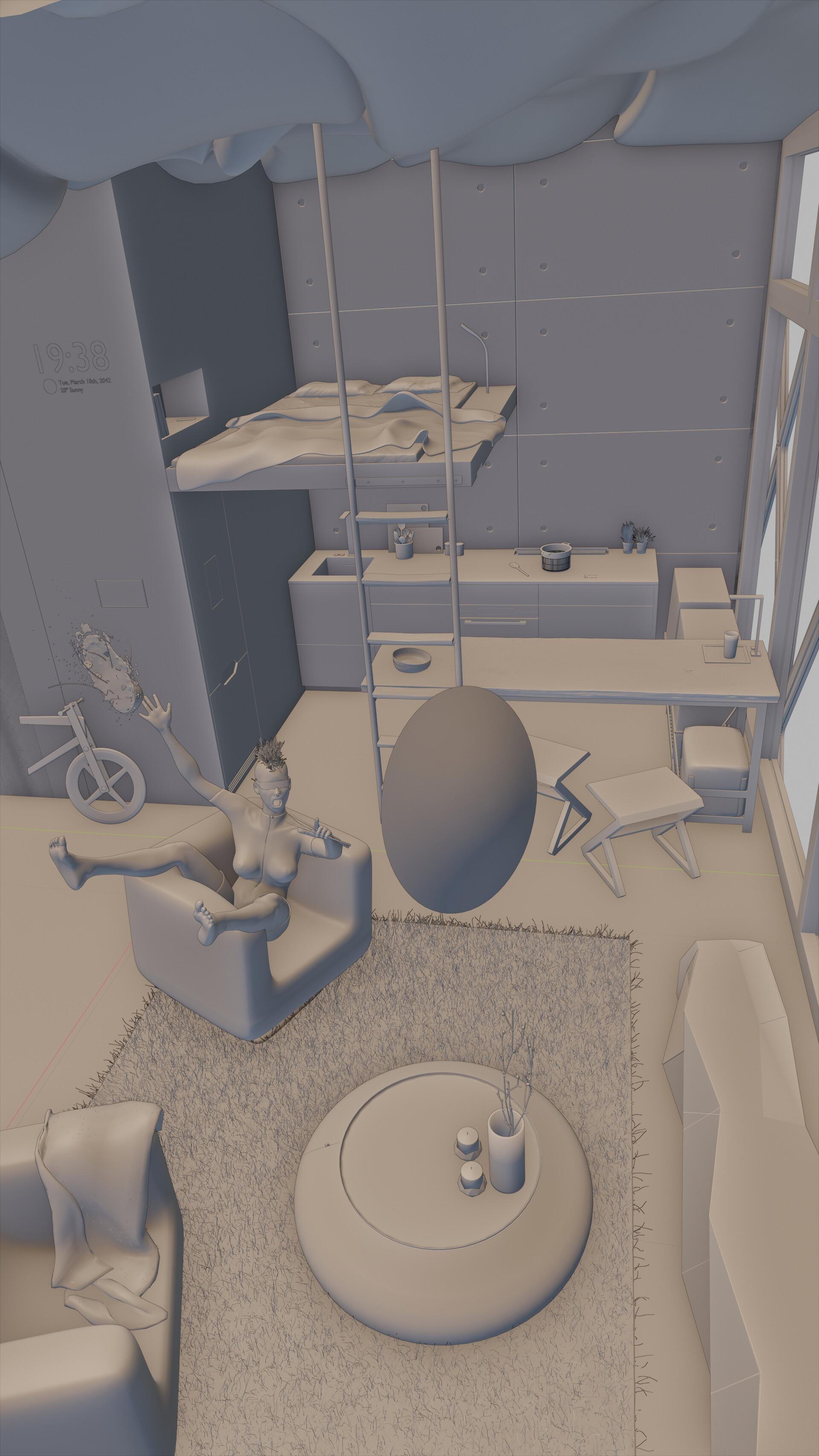 ArtStation - Marc Iglesias's submission on NVIDIA Metropia