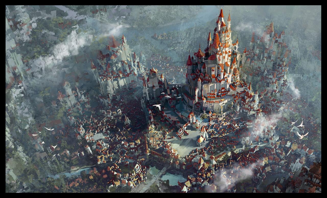 1st Place, The Legend of King Arthur: Environment Design