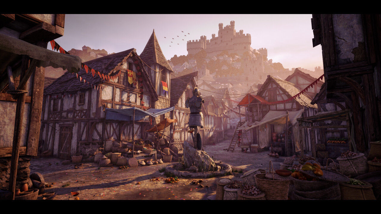 Honorable Mention, The Legend of King Arthur: Game Environment/Level Art