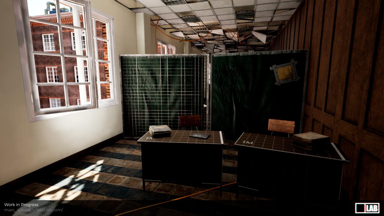 Wip school corridor 29022020 view 3