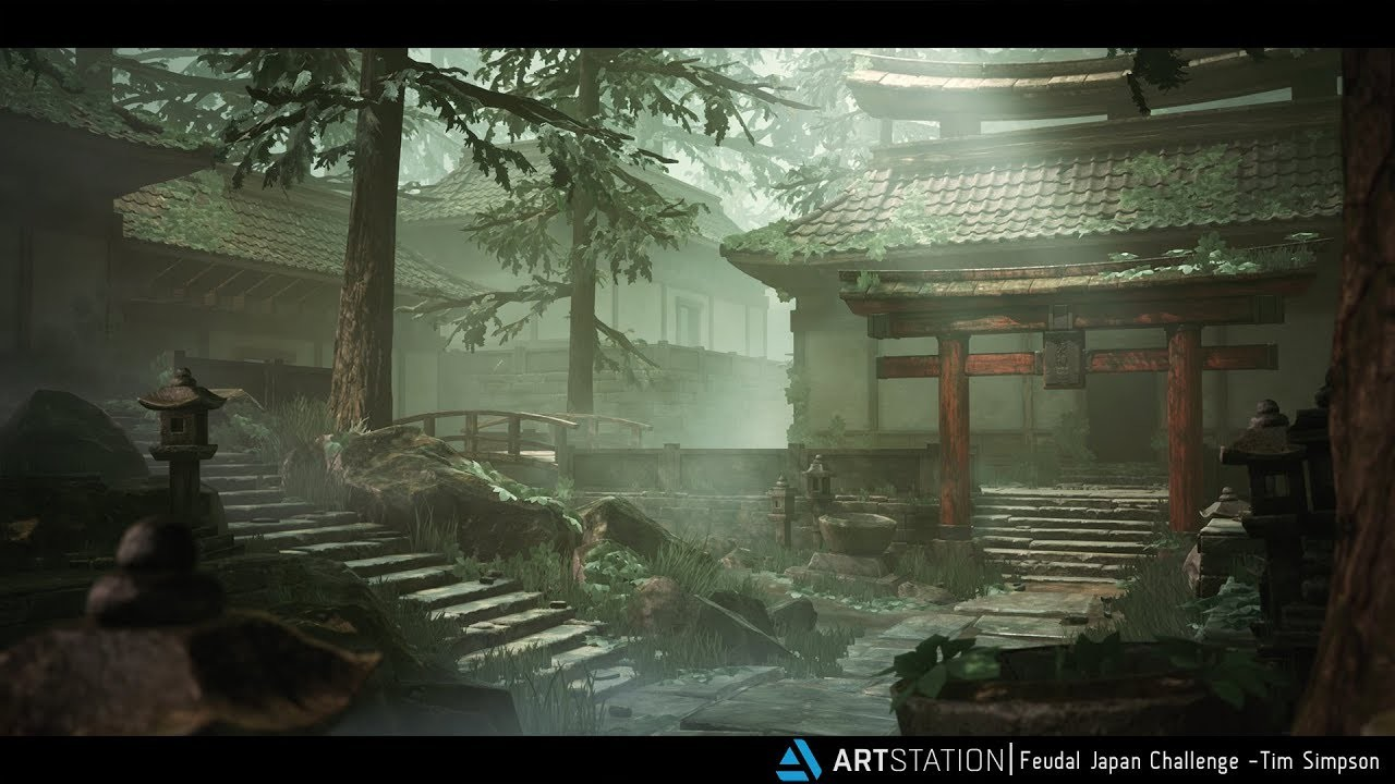 2nd Place, Feudal Japan: The Shogunate: Game Environment/Level Art
